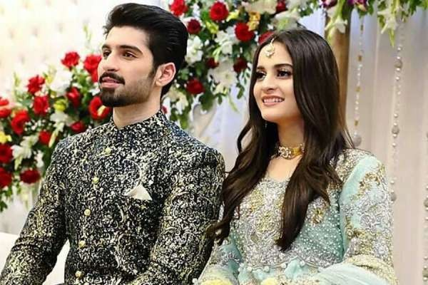 Muneeb Butt and Aiman Khan Wedding Pictures